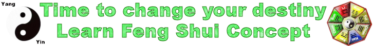 Banner: Understanding of simple Feng Shui concept to change your destiny